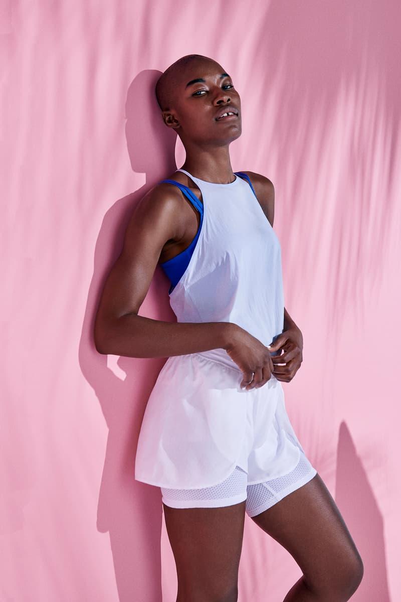 Nike Women's Training 24 x 24 Pack Short Tank Breathe Sports Bra Flex Bliss Shorts
