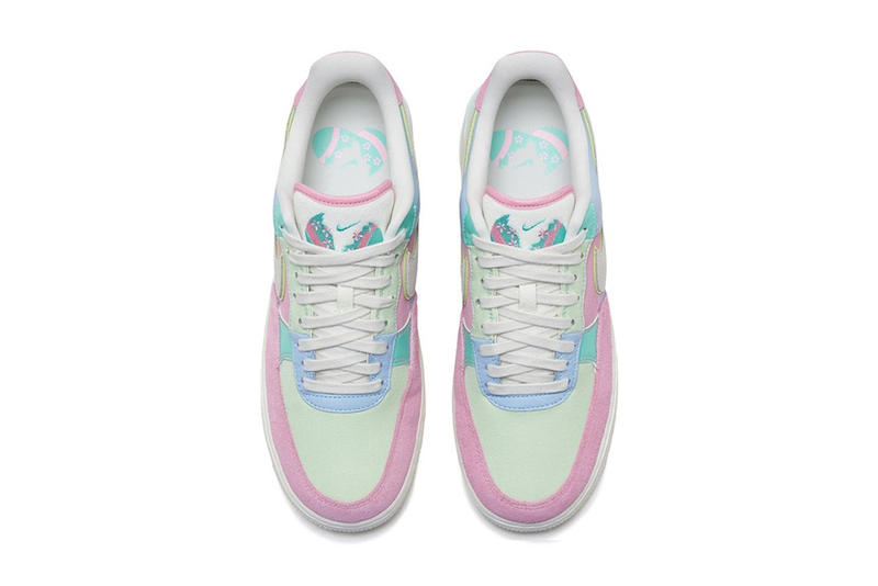 "Nike Air Force 1 ""Easter"" Pastel Colorway Drop Pink Yellow Blue Spring Shoe Sneaker"