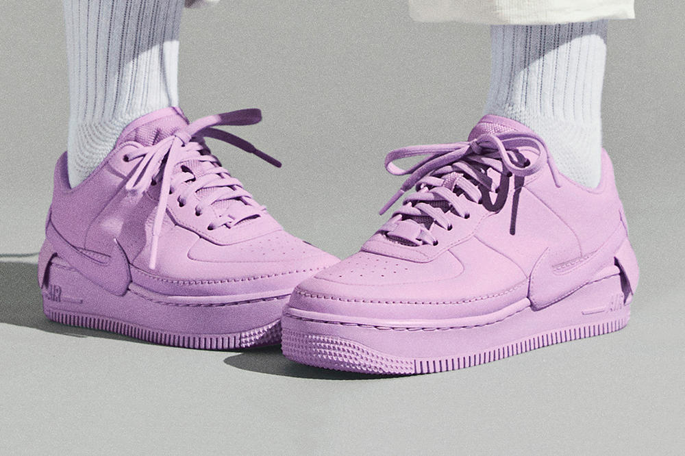 innovative design e4a92 65910 Best Nike Air Force 1 Low Sneakers for Spring Outfit Shoes Summer Look  Purple Pink Suede