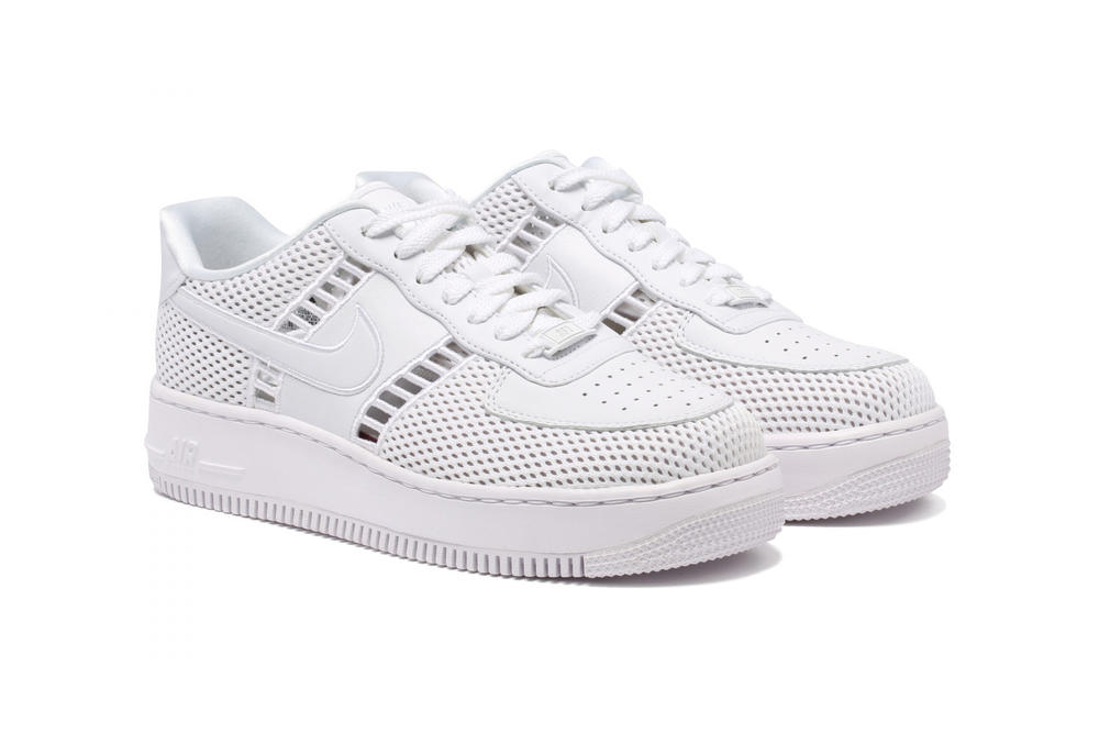 Nike Air Force 1 Upstep Low White