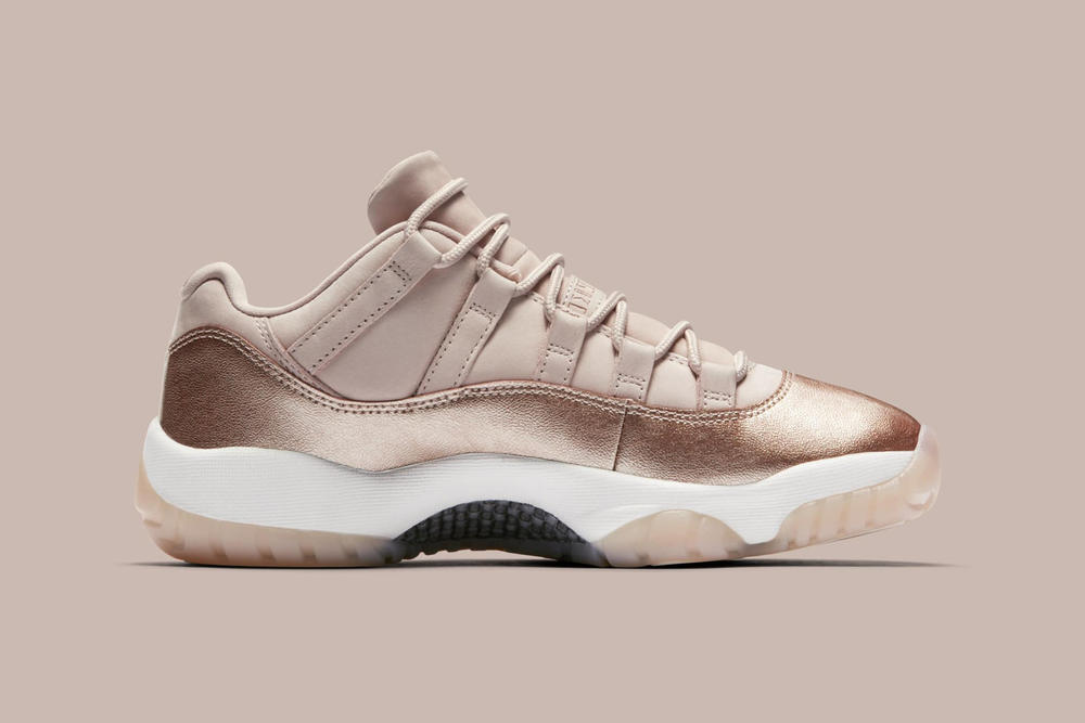 nike air jordan 11 low metallic red bronze