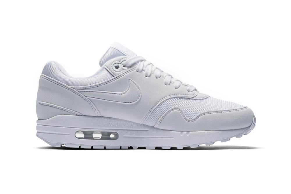 online store ab688 9247b Nike Air Max 1 Triple White