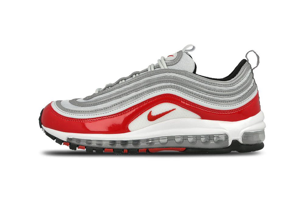 Nike Air Max 97 Pure Platinum University Red