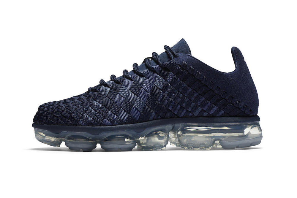 Nike Air VaporMax Inneva Release Date Summit White Midnight Navy Woven Sneakers Where to Buy