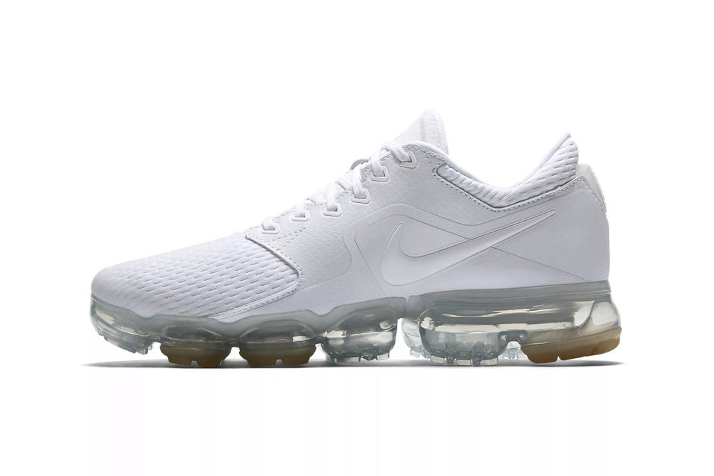 f9555ca670 Nike Drops Air VaporMax White Metallic Silver Mesh Women's Wmns Ladies  Sneakers Trainers Where to Buy. 1 of 2