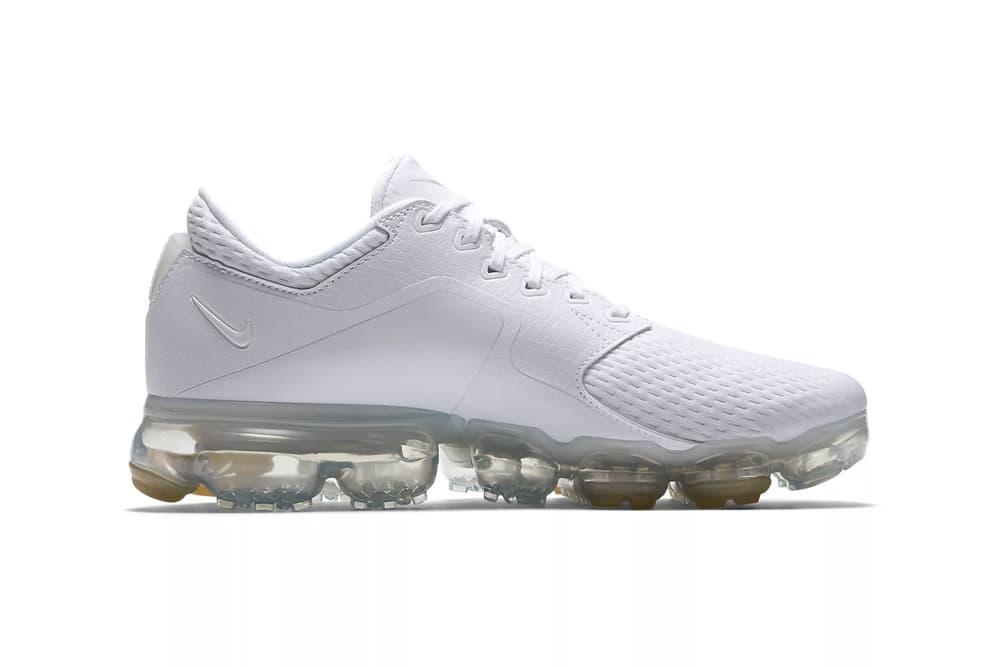 Nike Drops Air VaporMax White Metallic Silver Mesh Women's Wmns Ladies Sneakers Trainers Where to Buy