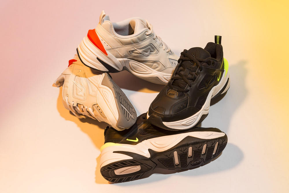 Nike M2K Phantom off white Black Volt Release Date Info Closer Look Women's wmns where to buy chunky bulky dad shoe sneakers