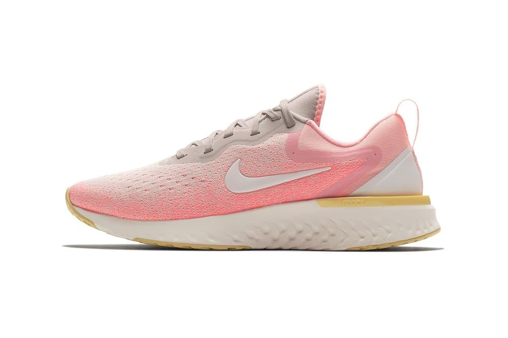 Nike Odyssey React Light Atomic Pink Lemon Wash Desert Sand Sail