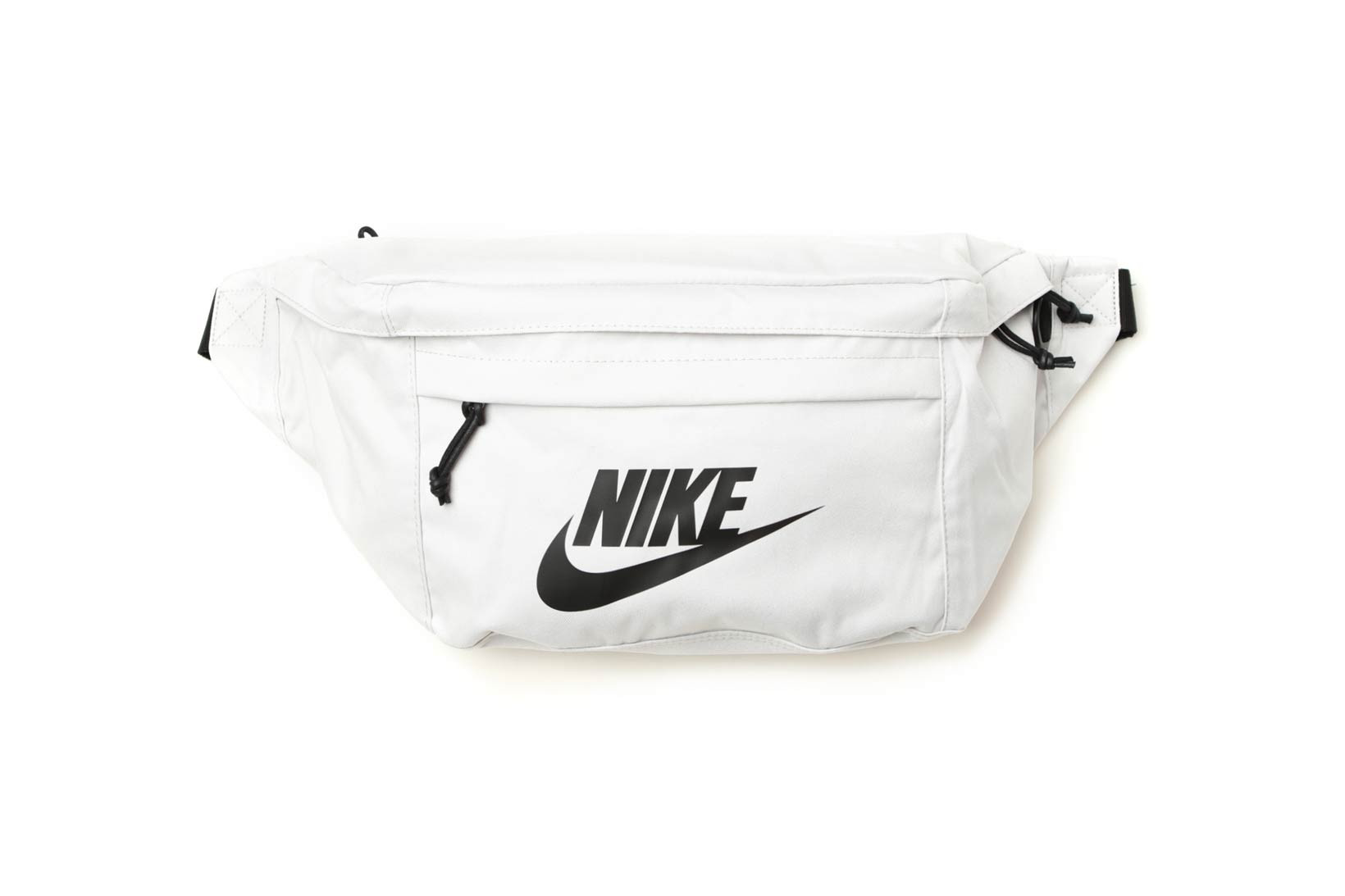 Nike\u0027s Tech Hip Pack in White, Black and Gray
