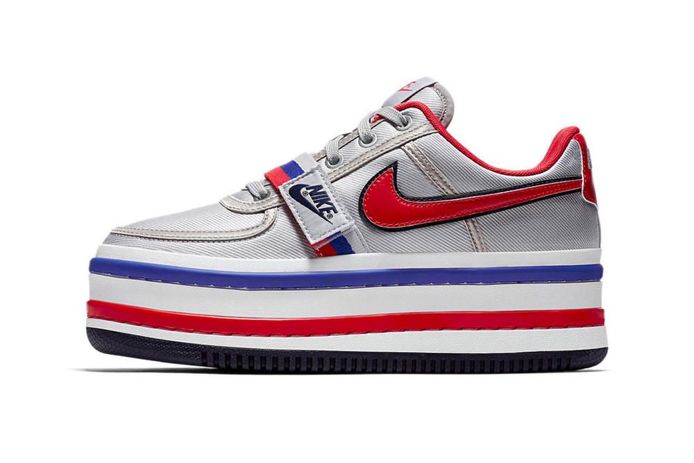 Nike Vandal Surprise Platform Silver Red Blue