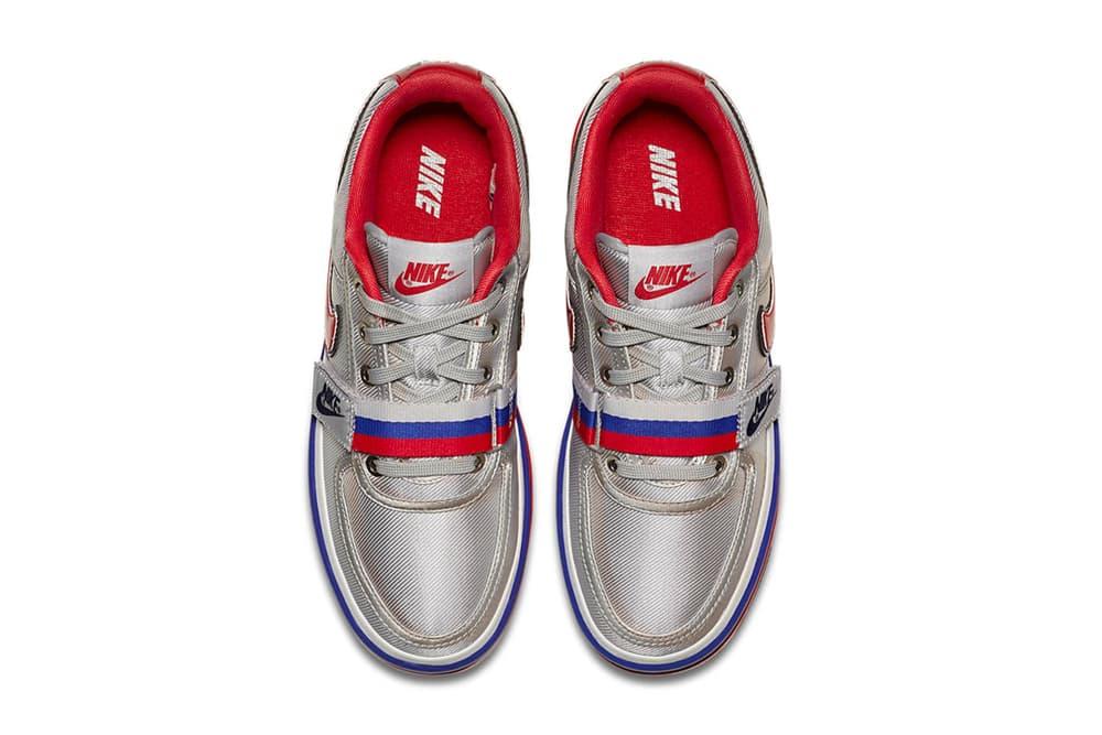 Nike Vandal Surprise Platform Silver Red Blue