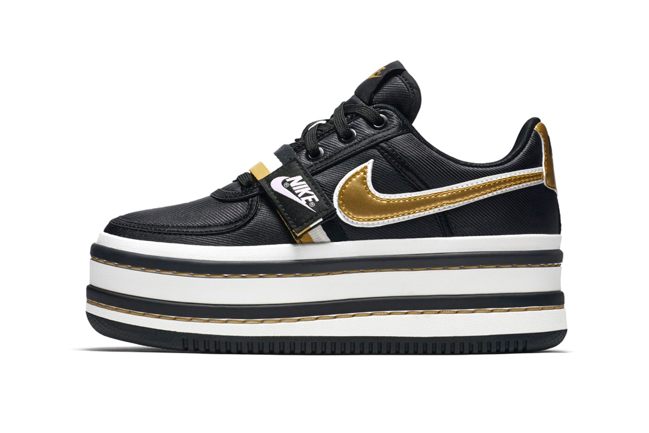 san francisco 342b7 14219 nike platform sneakers gold and blue shoes