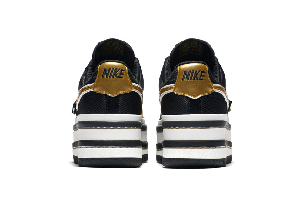 Nike Vandal Surprise Platform Black Gold