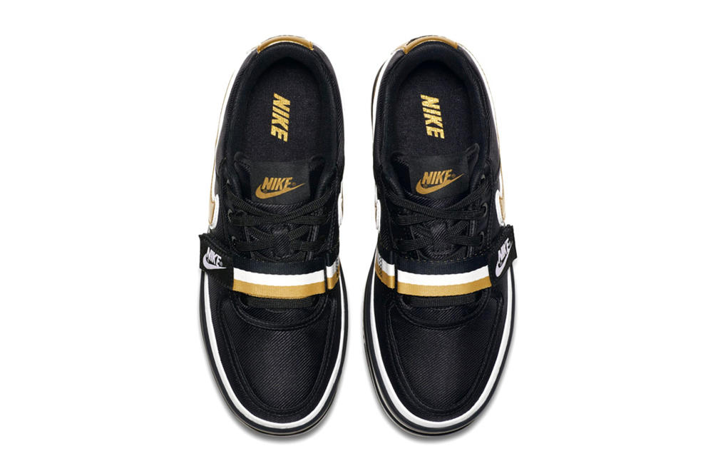 Nike Vandal Surprise Platform Black Gold