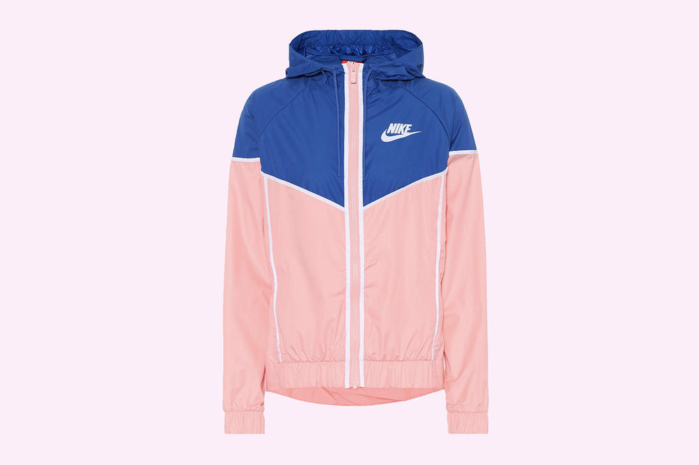 Nike Pastel Pink Blue Retro Windbreaker Jacket Women's Wmns Athleisure Sporty Vintage Where to Buy Mytheresa.com
