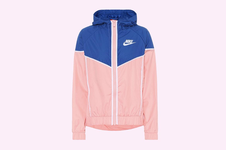 special for shoe look for in stock Nike Pastel Pink & Blue Retro Windbreaker Jacket   HYPEBAE