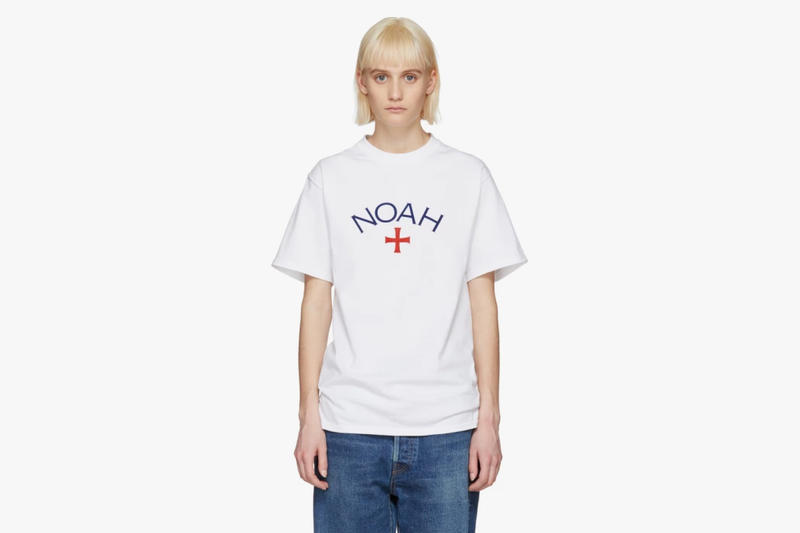 Noah Spring/Summer 2018 Drop Core Logo T-Shirt White