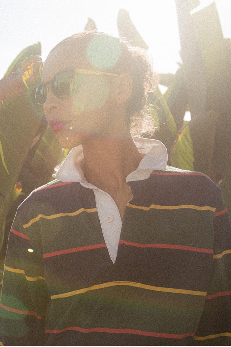 Noah x Vuarnet Spring/Summer 2018 Collection District Sunglasses Green Yellow