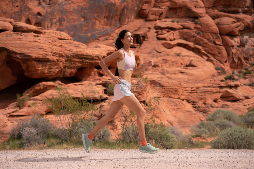 Outdoor Voices OV Running Collection Lookbook Campaign Workout Shoes Gear Apparel