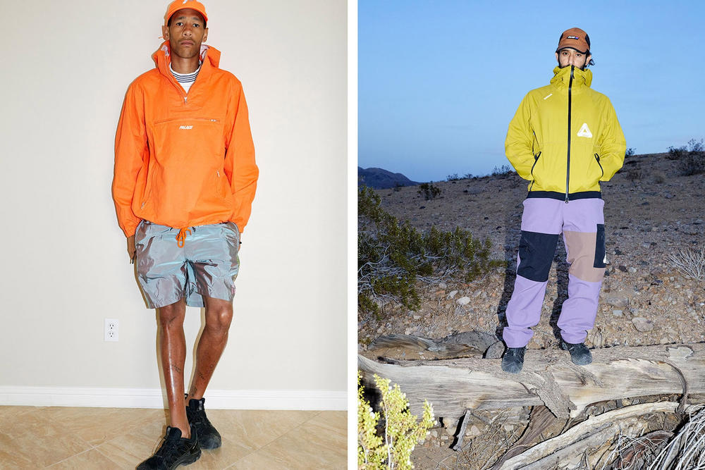 Palace Skateboards Summer 2018 Lookbook Juergen Teller Blondey McCoy Lucien Clarke Lookbook Where to Buy Oakley Gore-tex collaboration