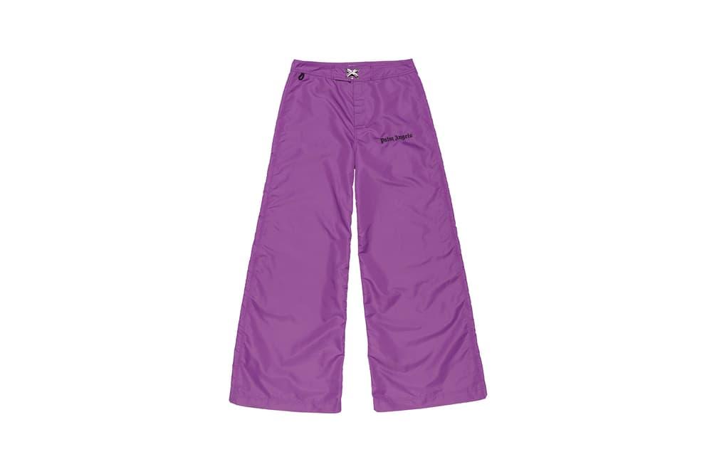 Palm Angels x SUN-DEK Collaboration Collection Huge Boardshort Purple