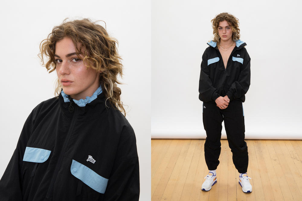 Patta Summer 2018 Collection Tracksuit Blue Black