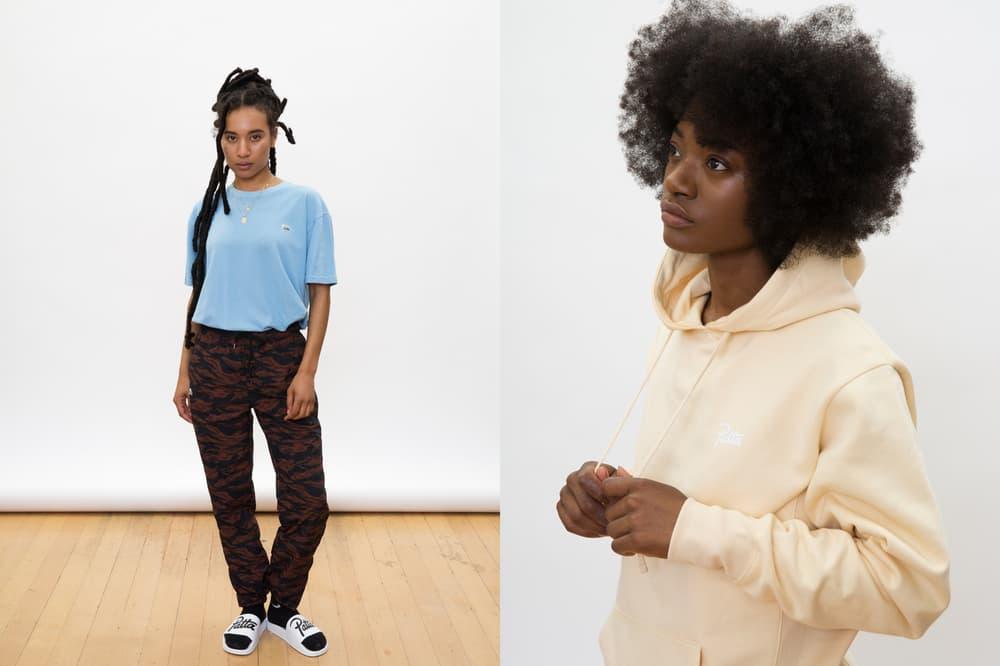 Patta Summer 2018 Collection T-Shirt Hoodie Blue Yellow