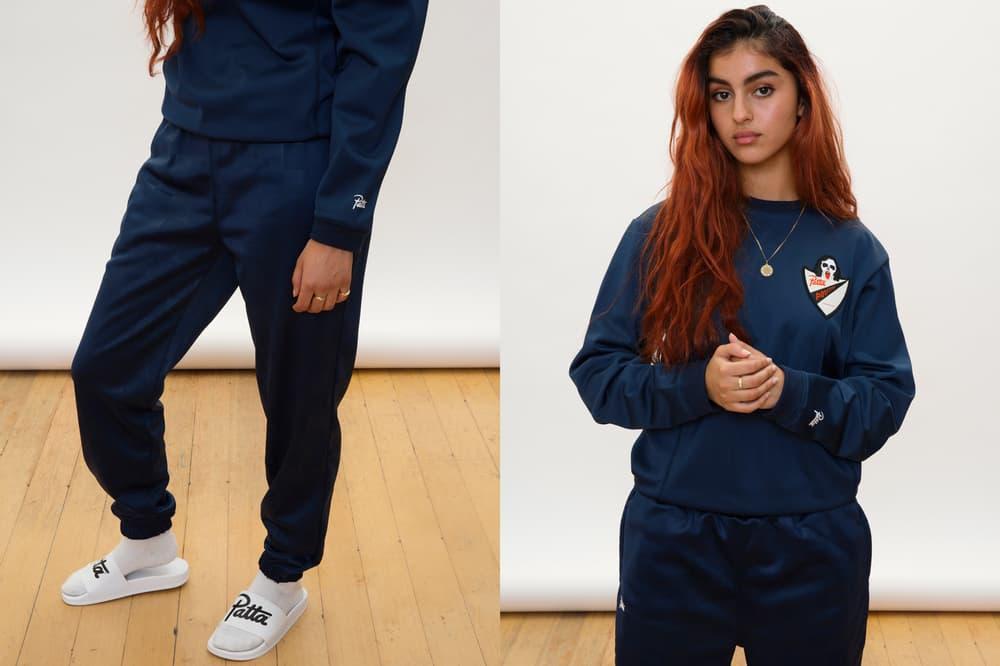 Patta Summer 2018 Collection Sweatshirt Sweatpants Blue