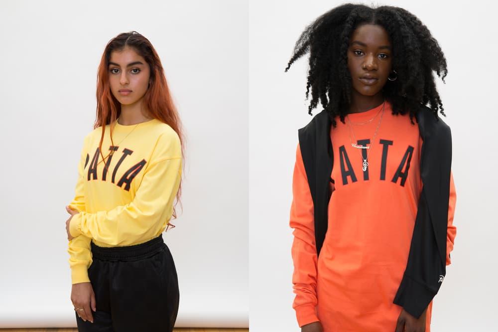 Patta Summer 2018 Collection Sweatshirts Yellow Orange