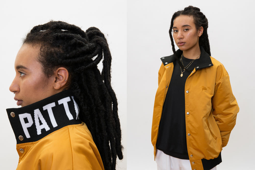 Patta Summer 2018 Collection Bomber Jacket Yellow Black