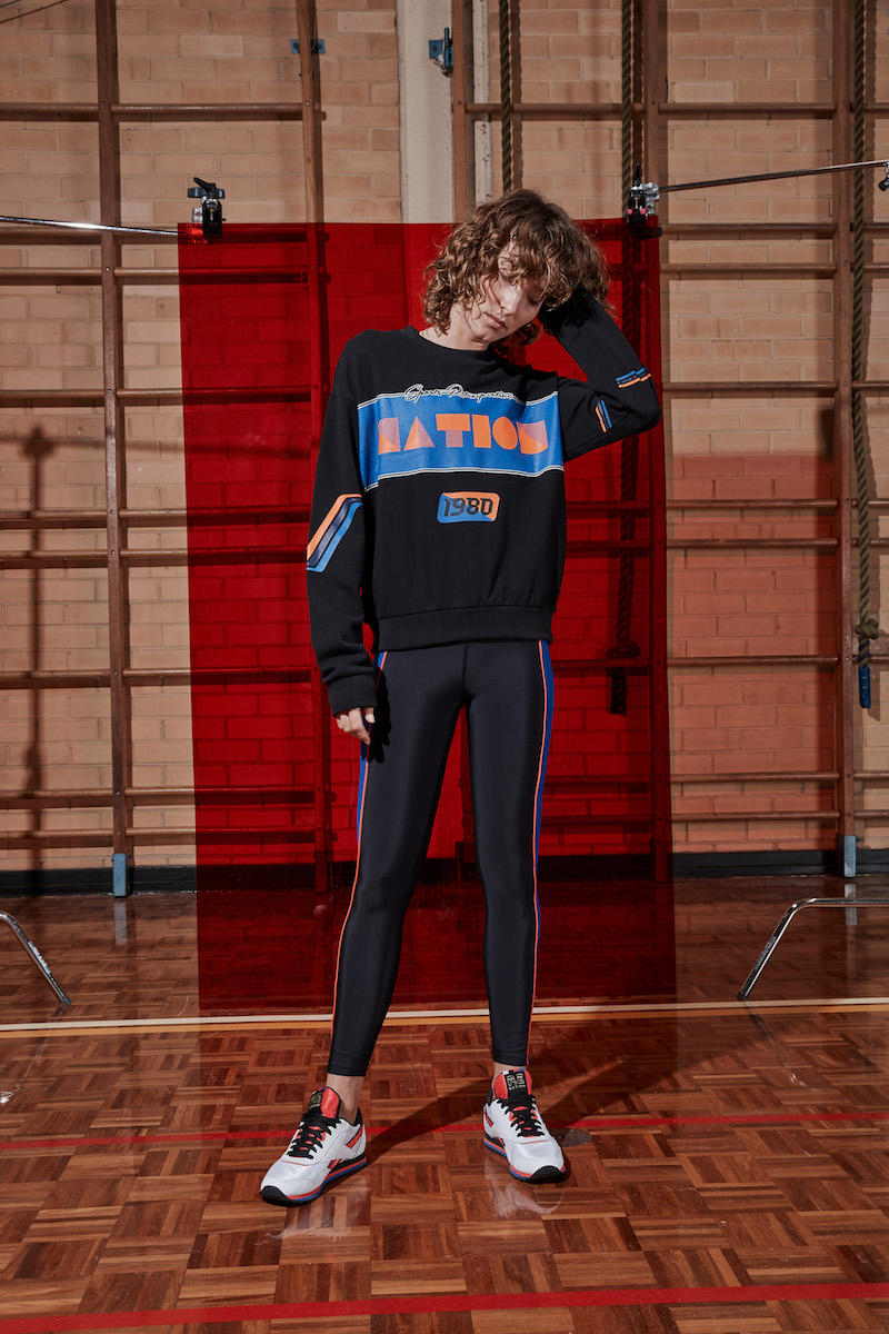 P.E Nation Phys.Ed Spring 2018 Lookbook Sportswear Fashion Athleisure