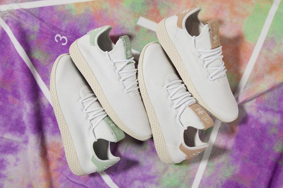 6a29616f7 Pharrell x adidas Originals Tennis Hu Mint Chalk