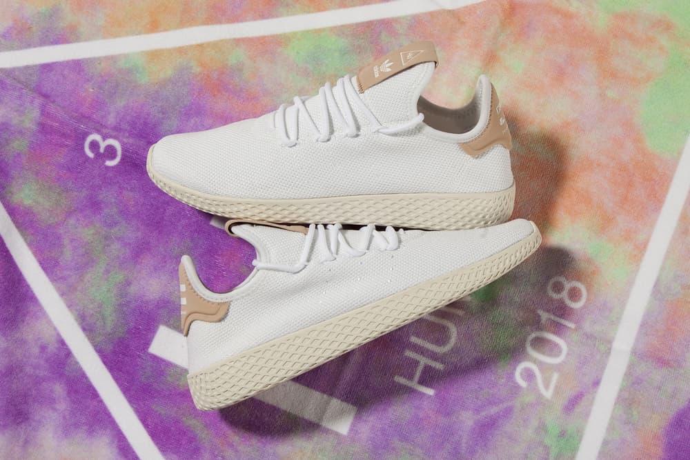 Pharrell Williams x adidas Originals Tennis Hu White Chalk