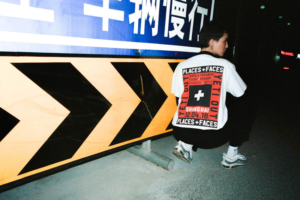 YETI OUT Places Faces Shanghai Sessions T-Shirt Lookbook