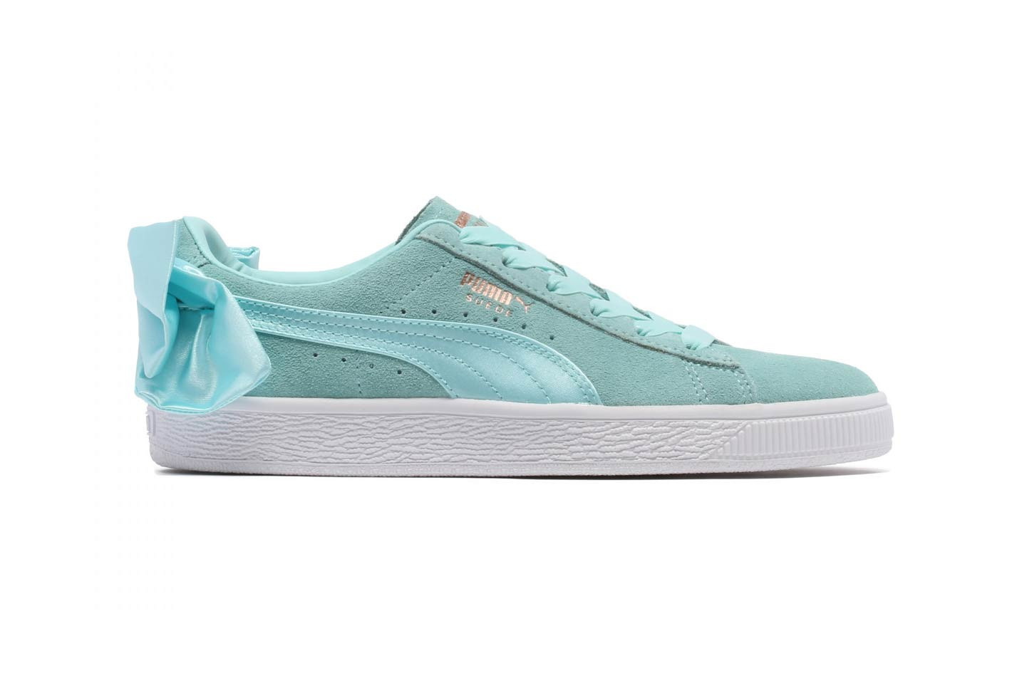 PUMA Suede Bow Releases In Island Paradise | HYPEBAE