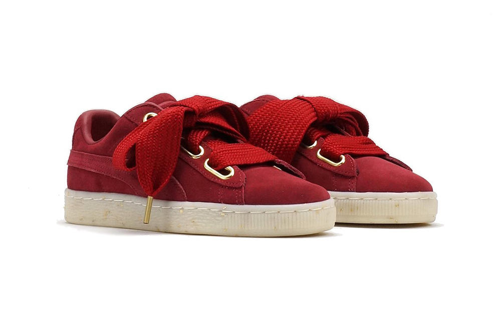 PUMA Suede Heart Fabulous Red Dahlia