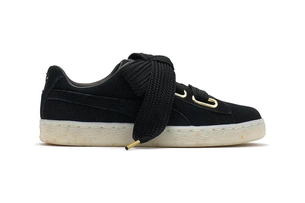 PUMA Suede Heart Fabulous Black
