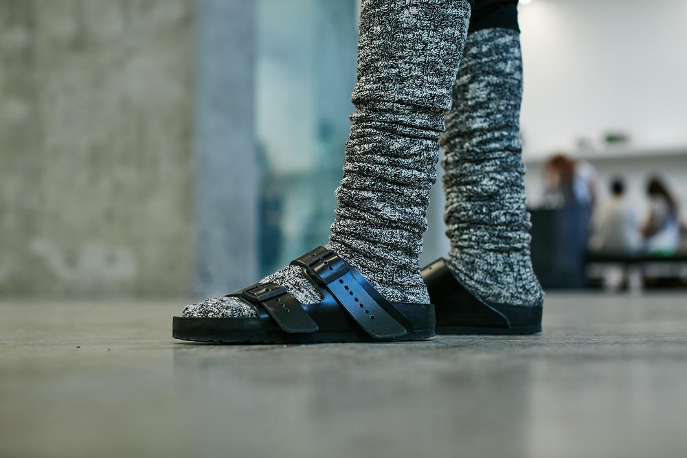 Rick Owens Birkenstock Sandals Cow Fur Hair Collaboration Los Angeles Pop Up Interview Comfort =