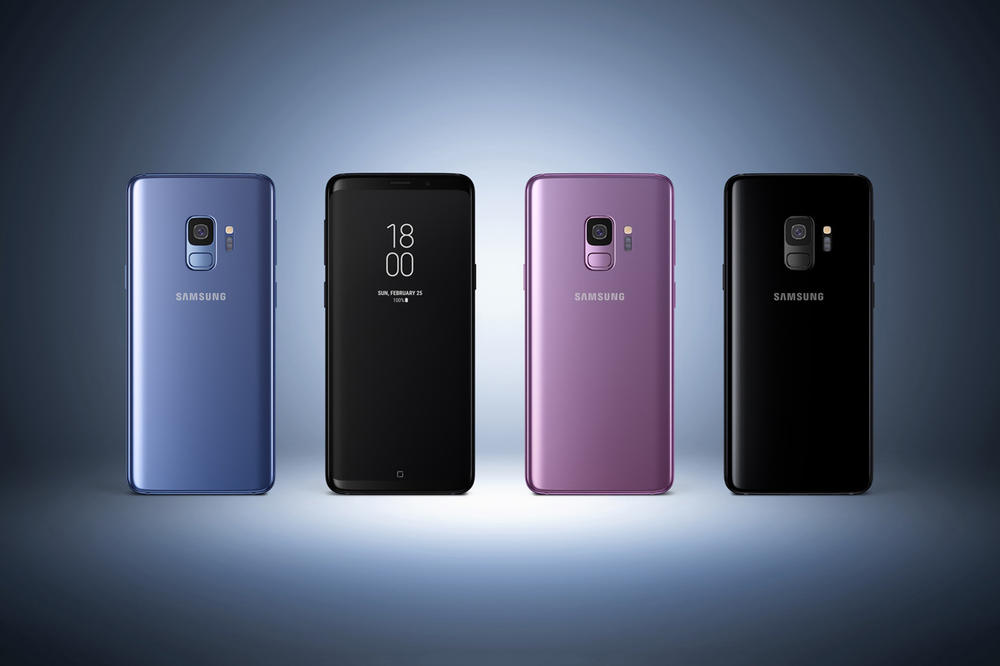 Samsung Galaxy S9 Lilac Purple Coral Blue Midnight Black