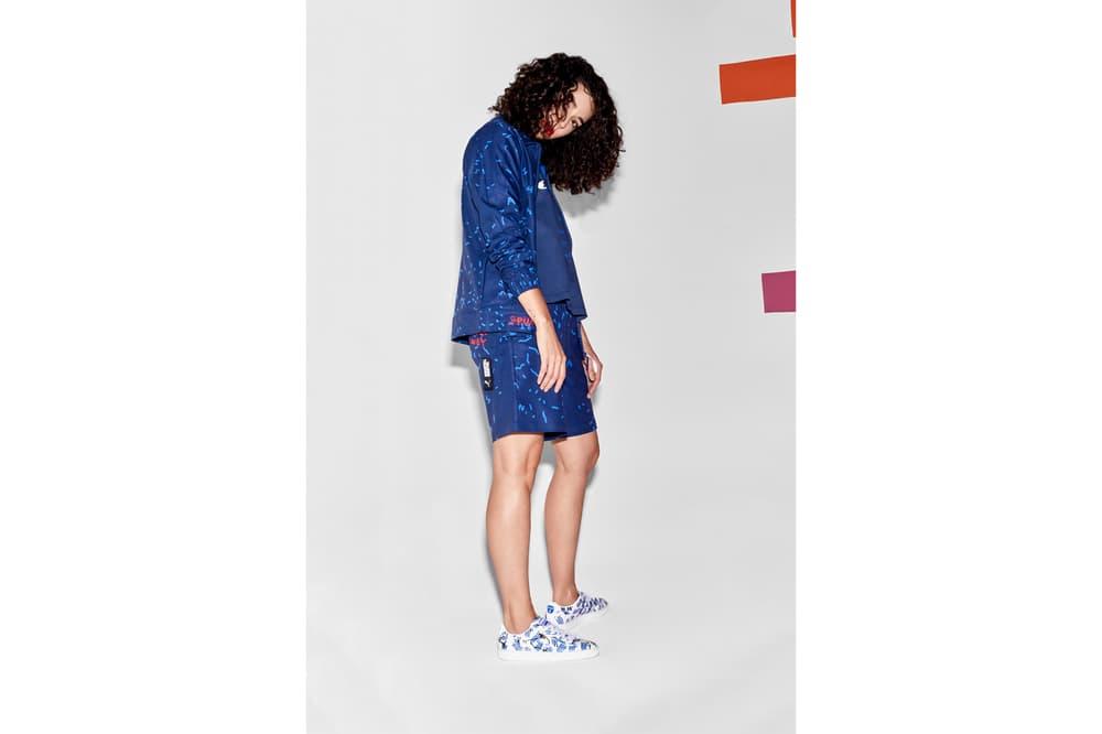 Shantell Martin x PUMA Spring/Summer 2018 Drop 2 Shirt Shorts Blue