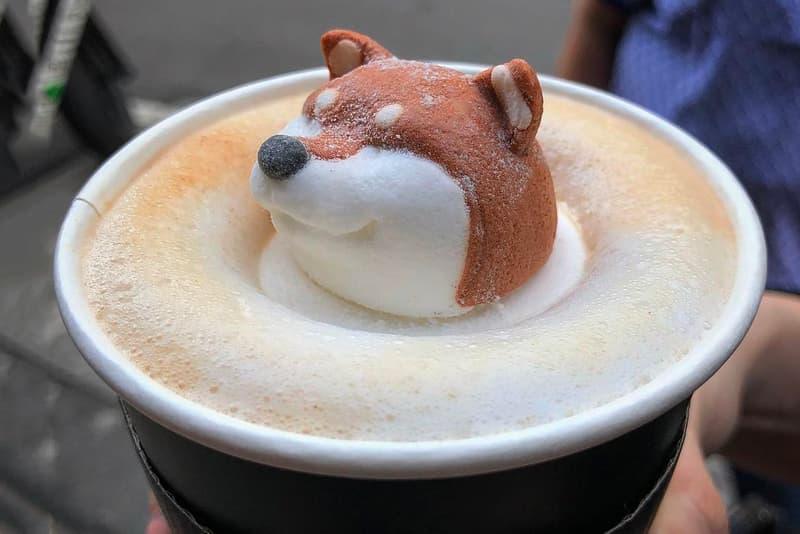 Shiba Inu Latte Coffee Taiwan Taipei Mr. R Drinks Café Dog Instagram Food Craze Trend Matcha Green Tea Cute Drink Art Where to Buy Opening Hours Address Dessert