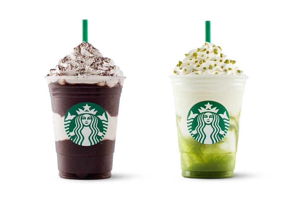 Starbucks Frappuccino Midnight Mocha Tiramisu Drink Beverage Chocolate Tea Matcha Green Tea Cream