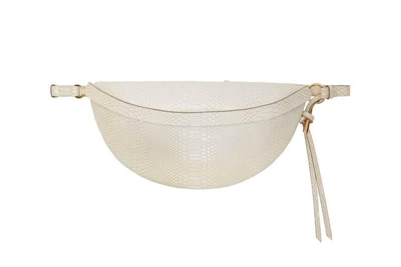Stella McCartney Snake Alter Bum Bag White Fanny Pack