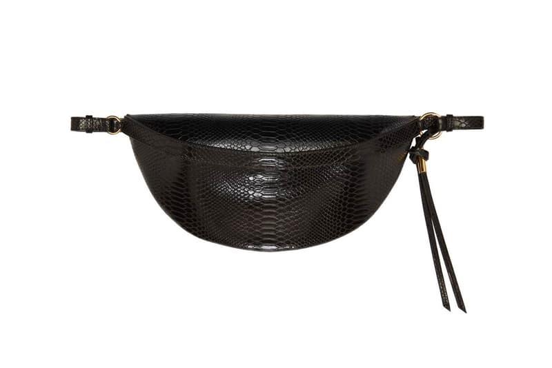 Stella McCartney Snake Alter Bum Bag Black Fanny Pack