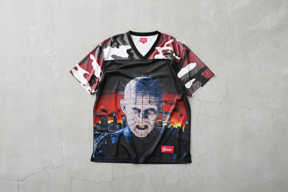 Supreme x Hellraiser Collection Release Date Info Where to Buy Hoodies Sweater T-shirt Skateboard Skate Deck Beanie Jacket Pinhead
