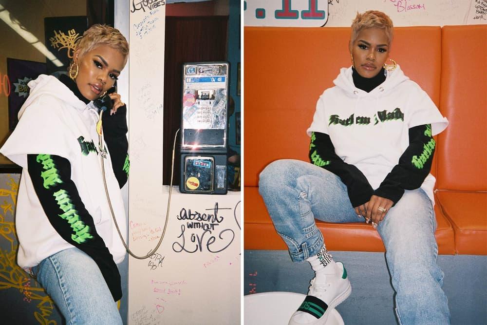 Teyana Taylor GCDS Harlem Made Lookbook