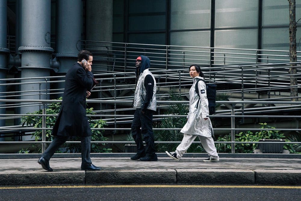 The North Face Black Series Spring/Summer 2018 London Lookbook Aluminium Capsule Collection