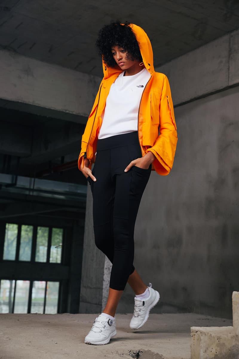 The North Face Urban Exploration Black Series Spring/Summer 2018 Collection Lookbook Jacket Orange