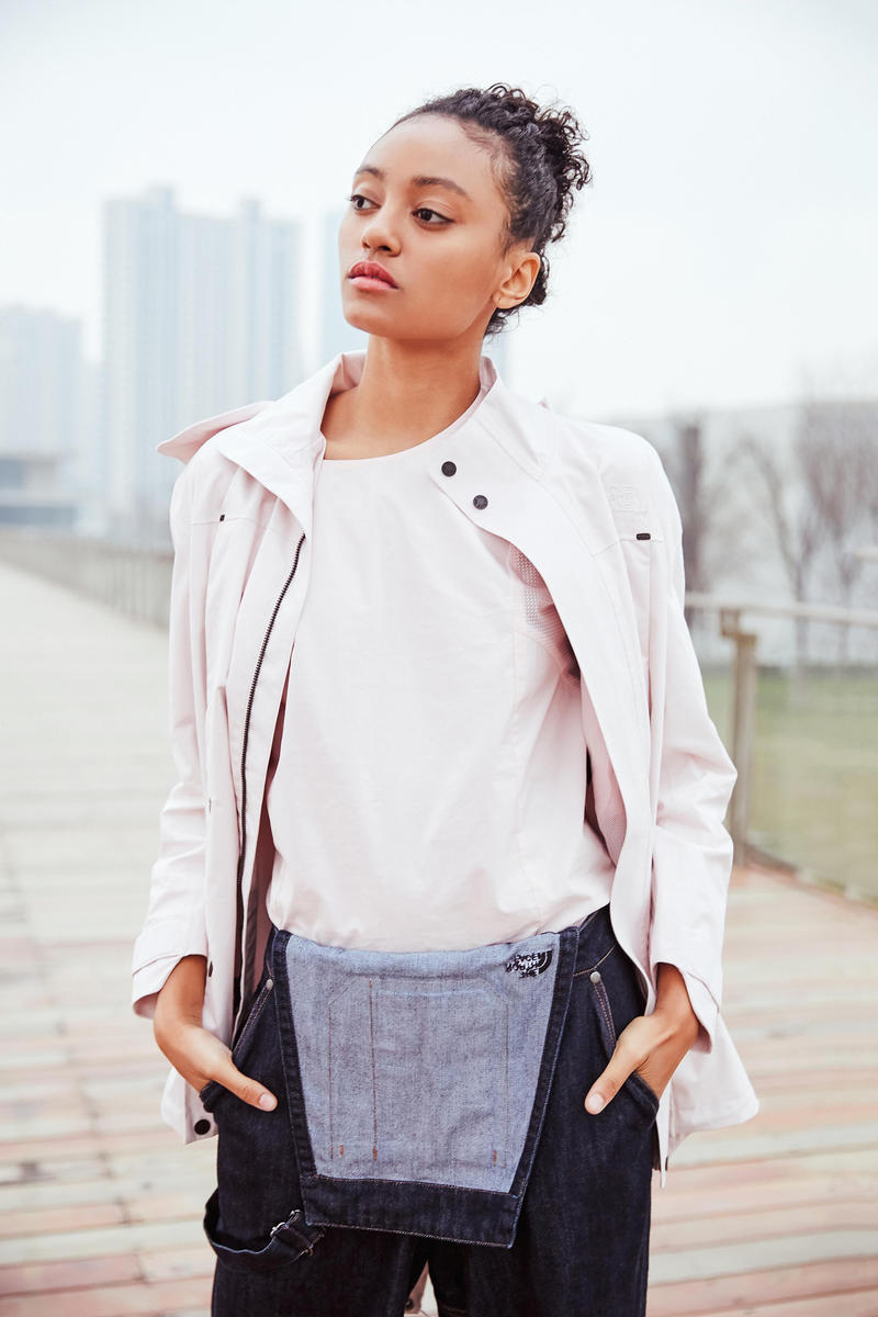 The North Face Urban Exploration Black Series Spring/Summer 2018 Collection Lookbook Jacket Pink