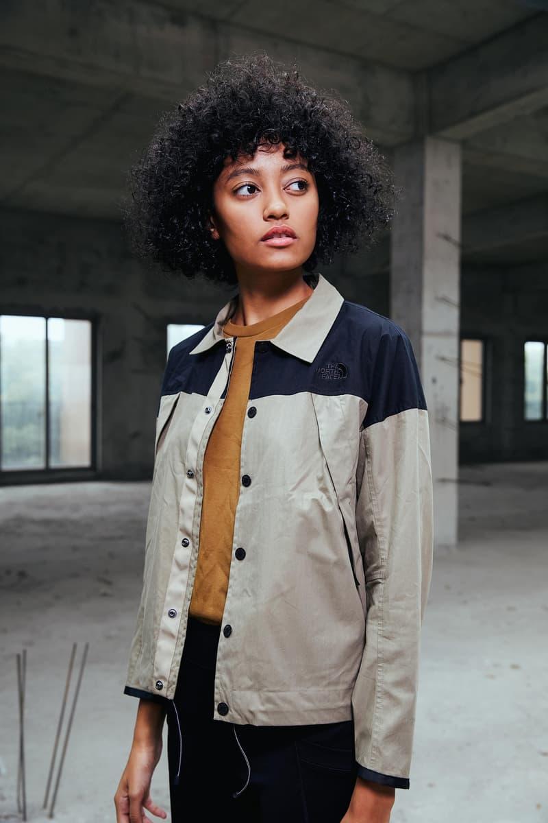 The North Face Urban Exploration Black Series Spring/Summer 2018 Collection Lookbook Jacket Tan Black